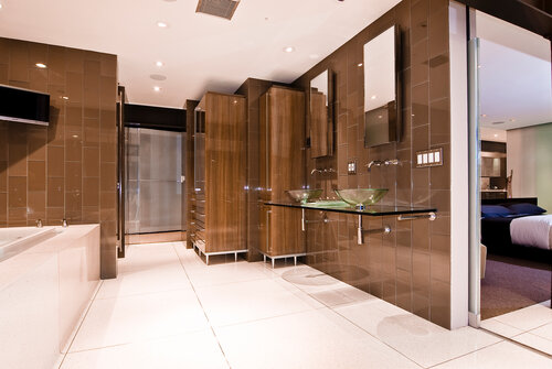 Modern Master Suites Baths Whipple Russell Architects