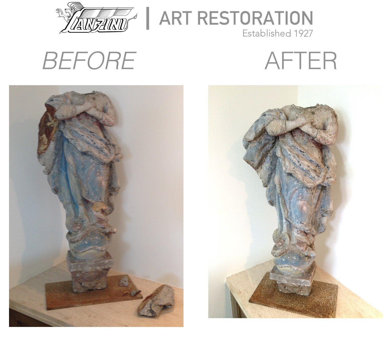 Statue Repair Lanzini Art Restoration