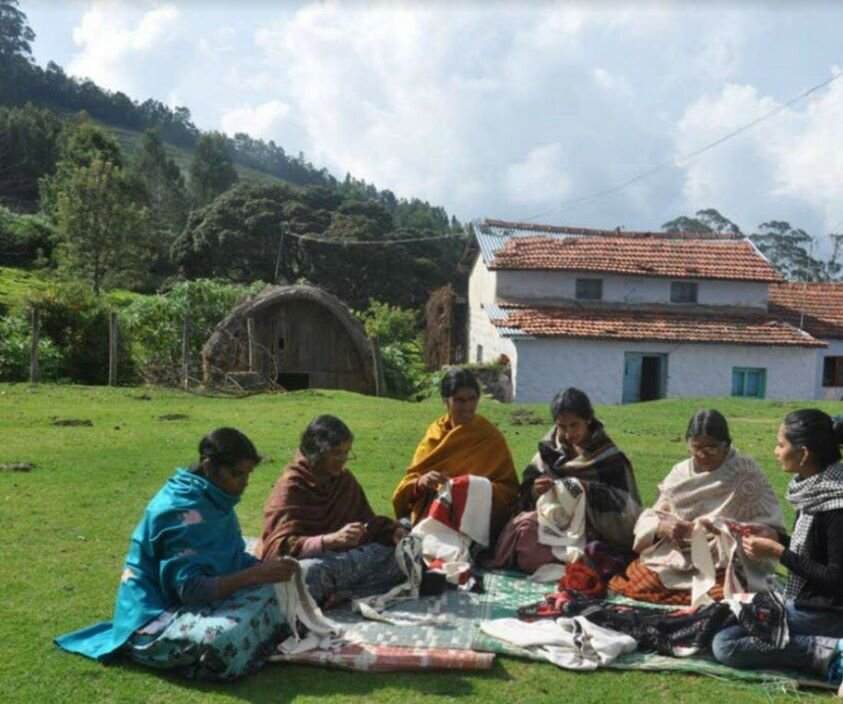 Toda is an Indian tribe in southern India and they are master embroiders. Today, toda embroidery is one of the most endangered crafts in India.