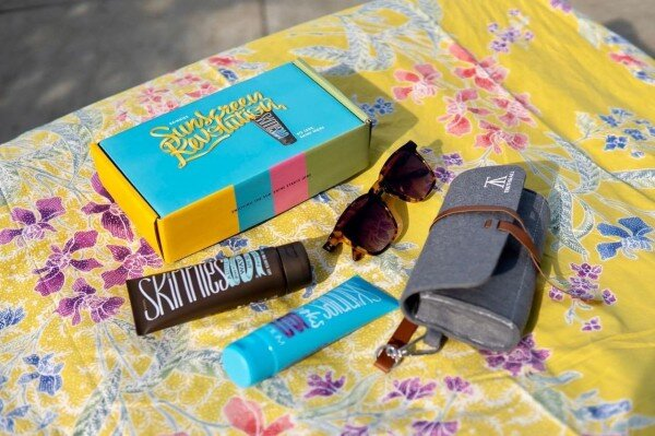 Sunglasses Turtle  by  Truth & All  &  Skinnies  sunscreen