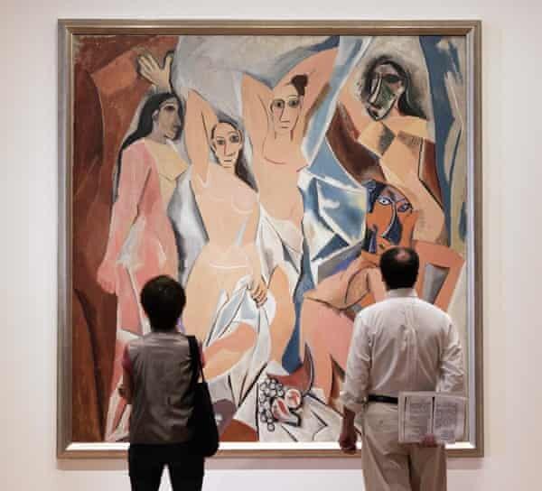 Pablo Picasso Les Demoiselles D Avignon C 1907