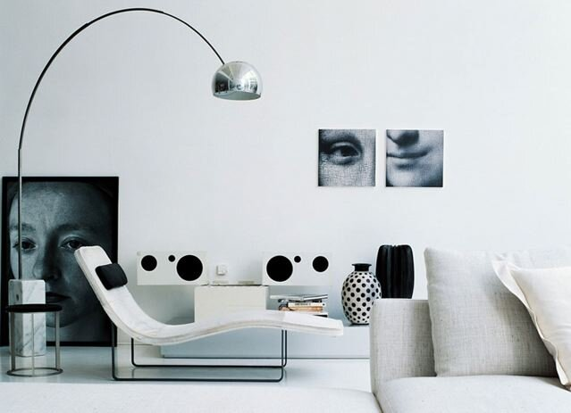 The Arco Floor Lamp By The Castiglioni Brothers