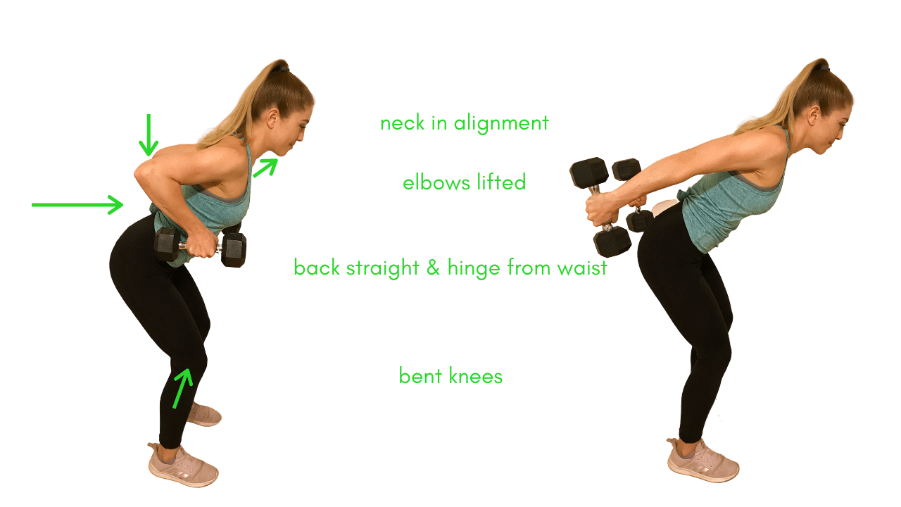 Arm Exercise- Tricep Extension with Dumbbells