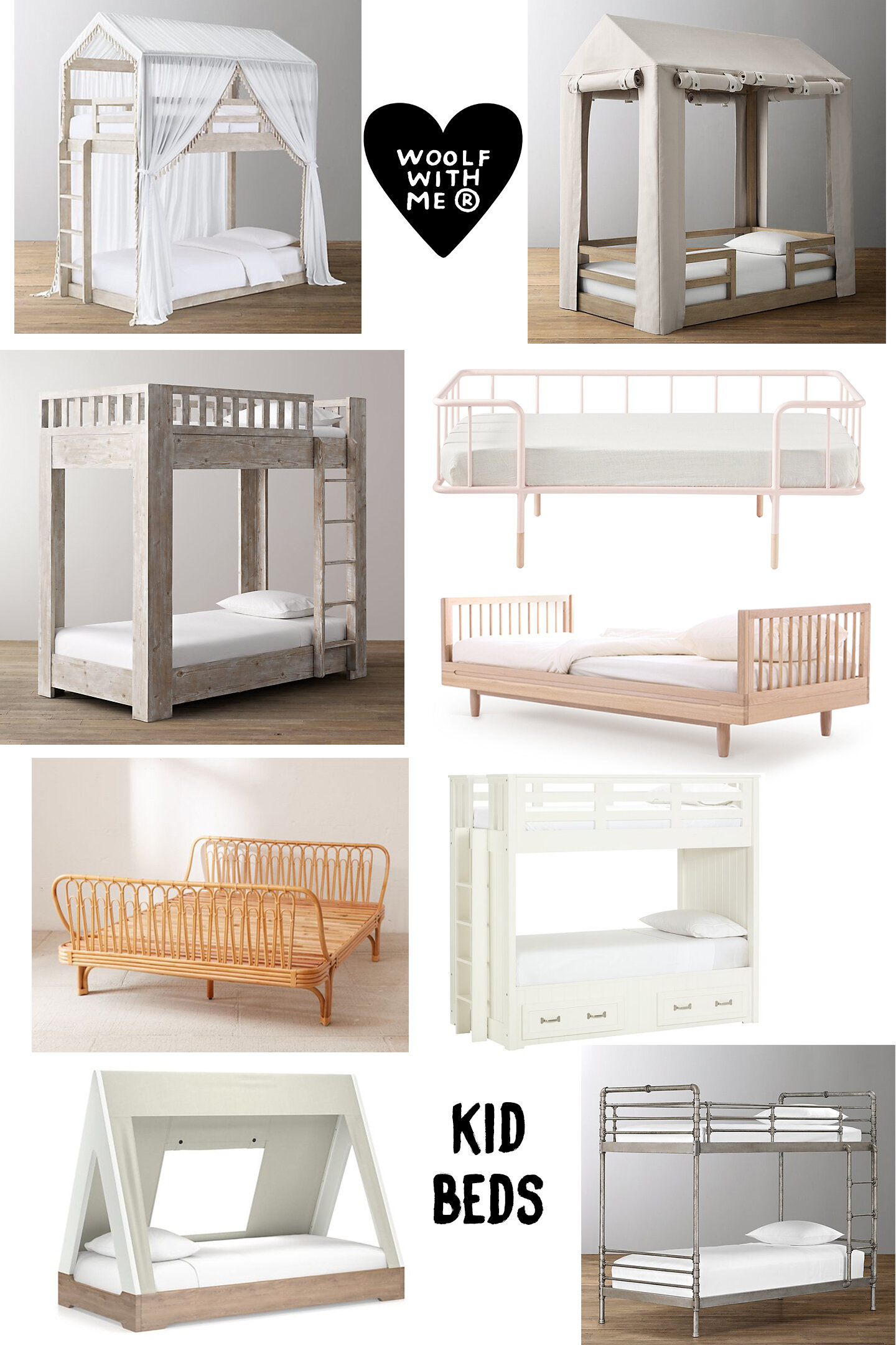 Picture of: Kids Toddler Beds Twin Beds Bunk Beds Woolf Talk