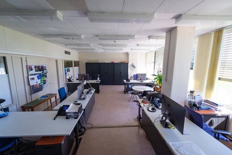 Empty offices of Palais des Nations - Copyright UN Photo - Matija Potocnik