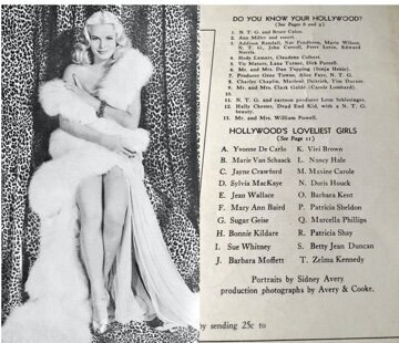 Not every girl at NTG's Florentine Gardens review becomes a success in the business but it worked for Jean Wallace and Yvonne DeCarlo.