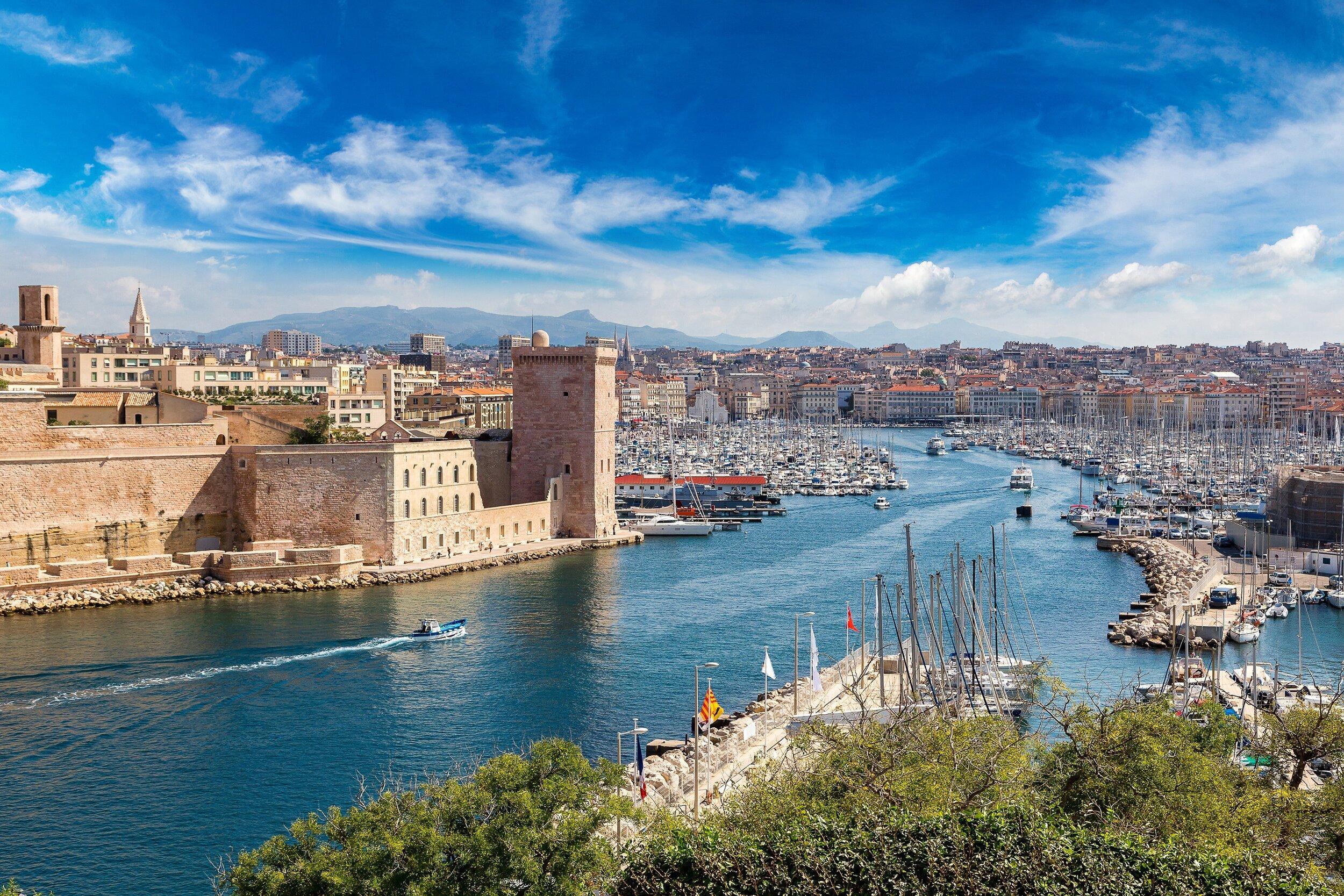 Marseille, the home of Bouillabaisse