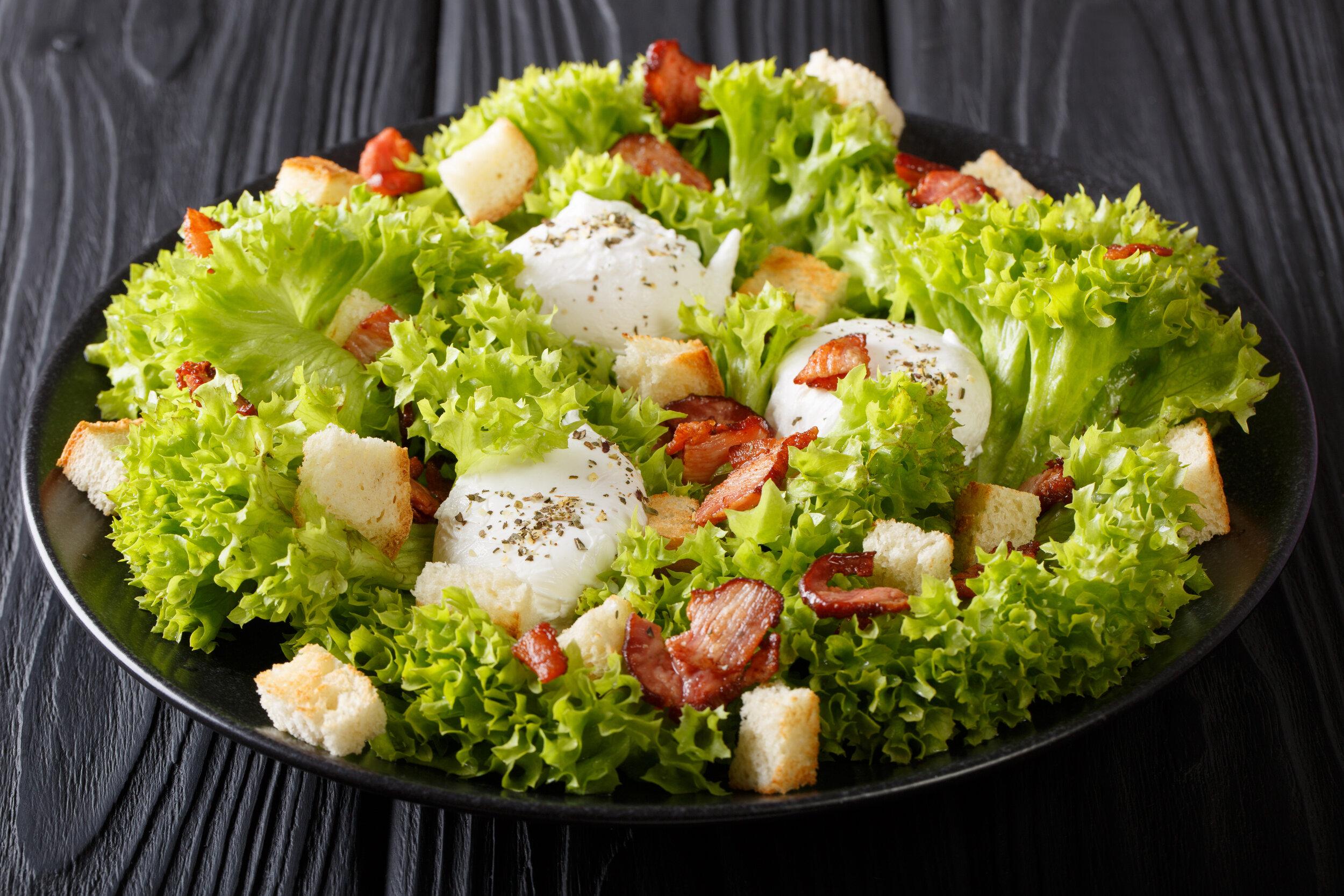 Low Cal Lyonnaise Salad