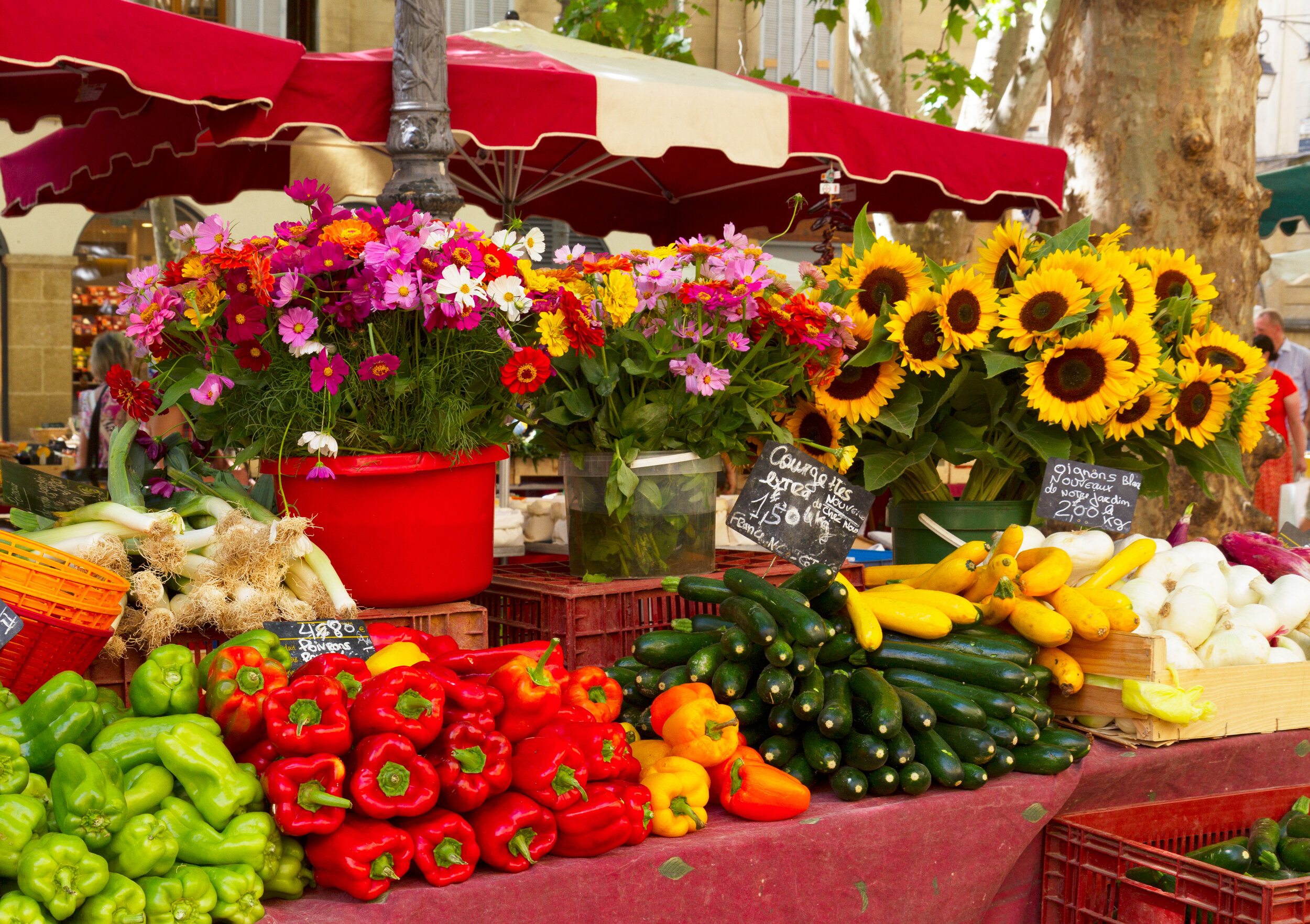 French Farmers' Market