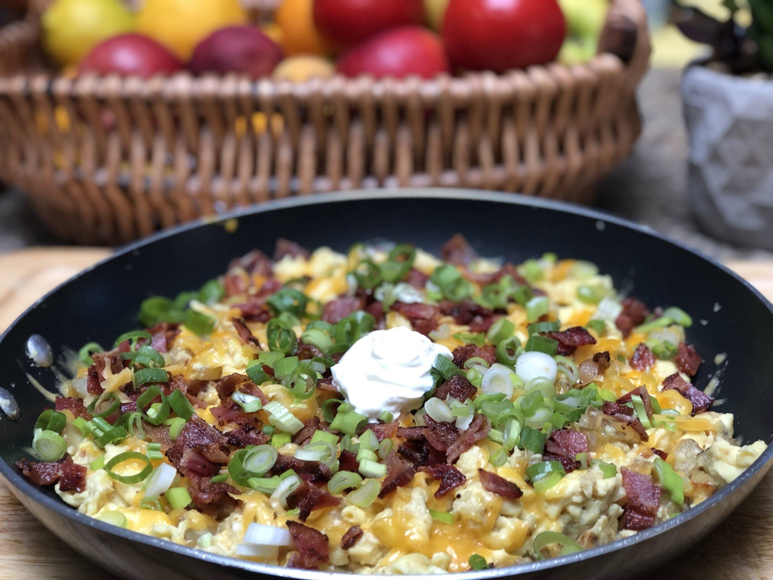 Loaded Potato Breakfast Skillet