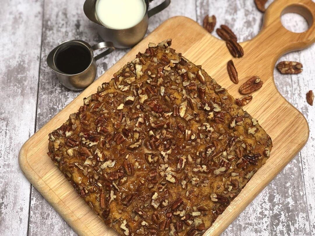 Maple Pecan French Toast Casserole