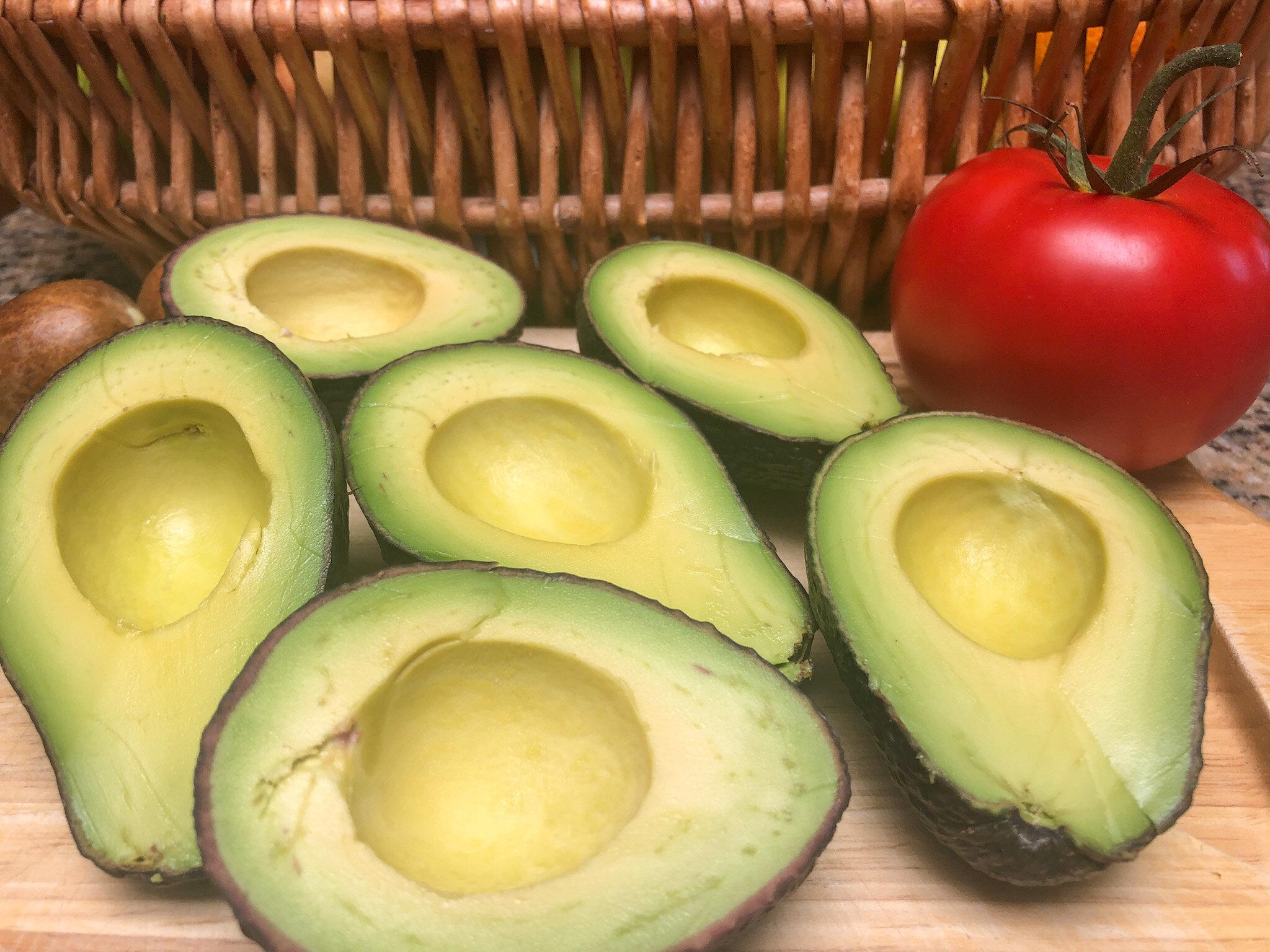 Avocados for Super Simple Guacamole
