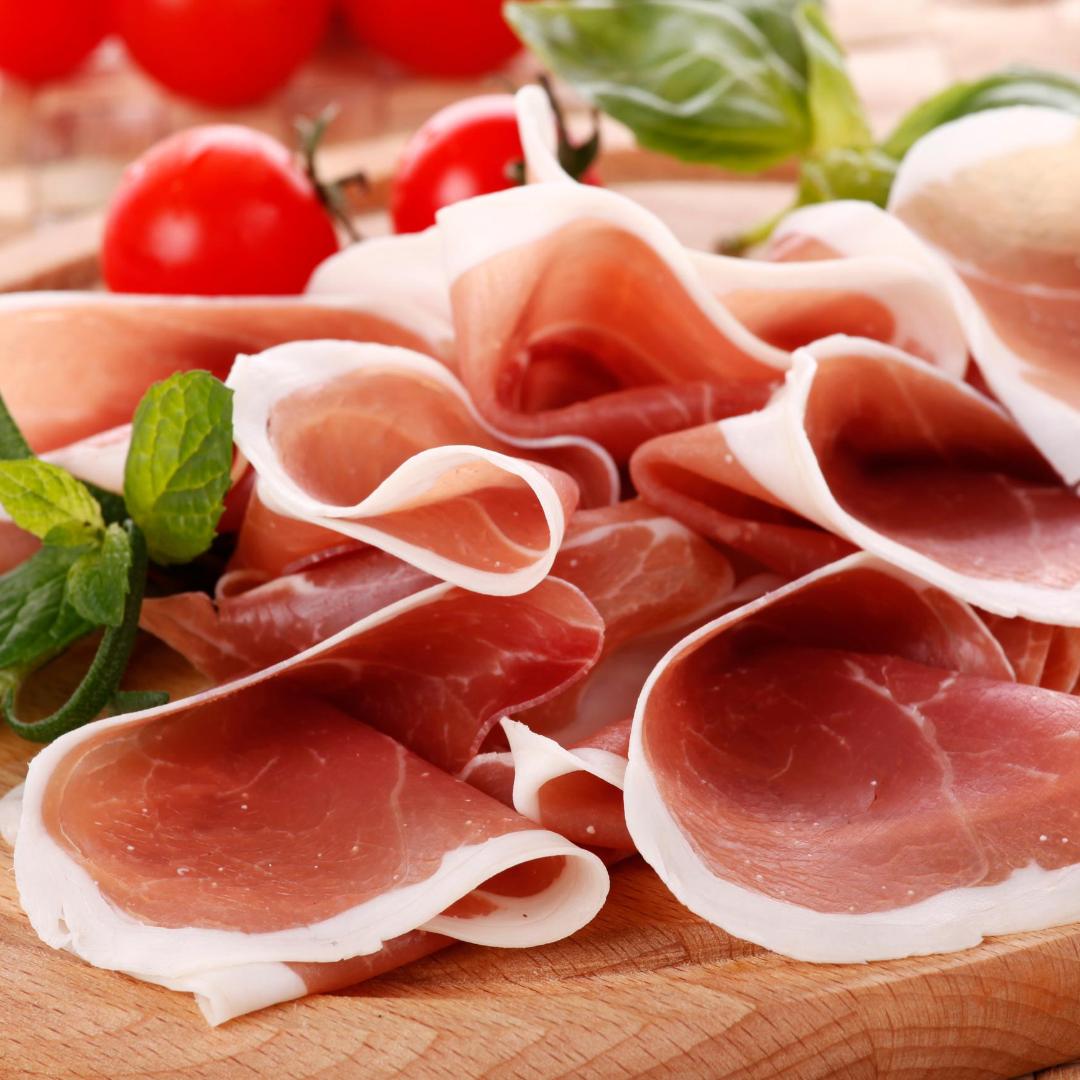 Prosciutto for Italian Charcuterie Board