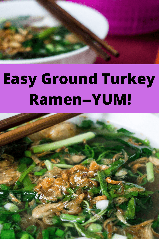 Pin for Hanoi Ramen: A healthy ramen soup.