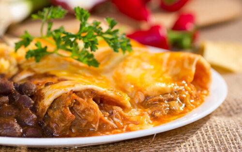 Healthy Beef Enchiladas