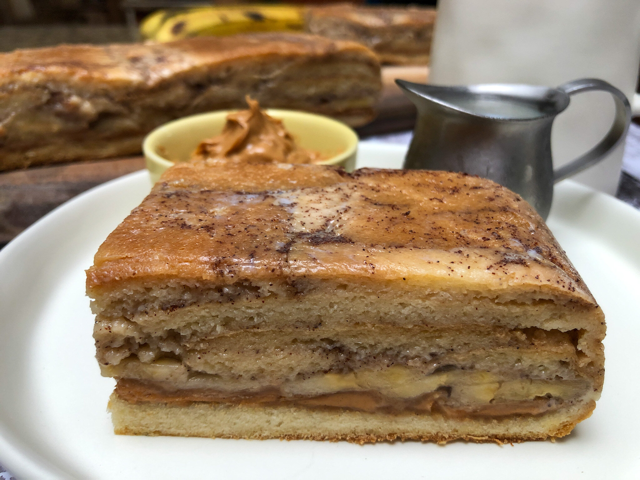 Peanut Butter French Toast Bake