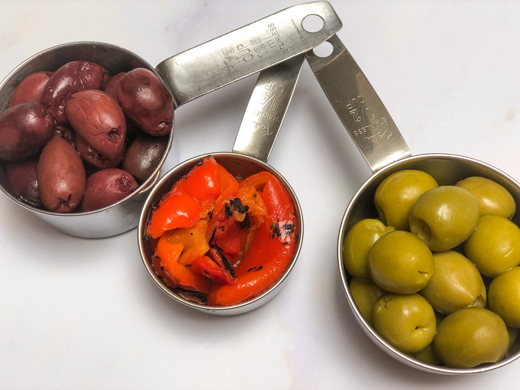 Olives for Vegan Olive Tapenade