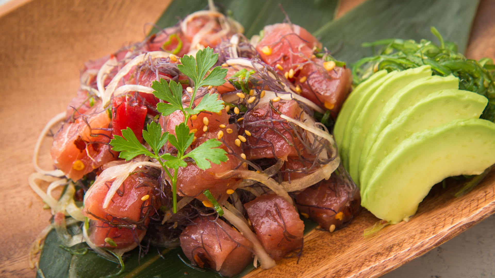 Ahi Poke on our Food Bucket List.
