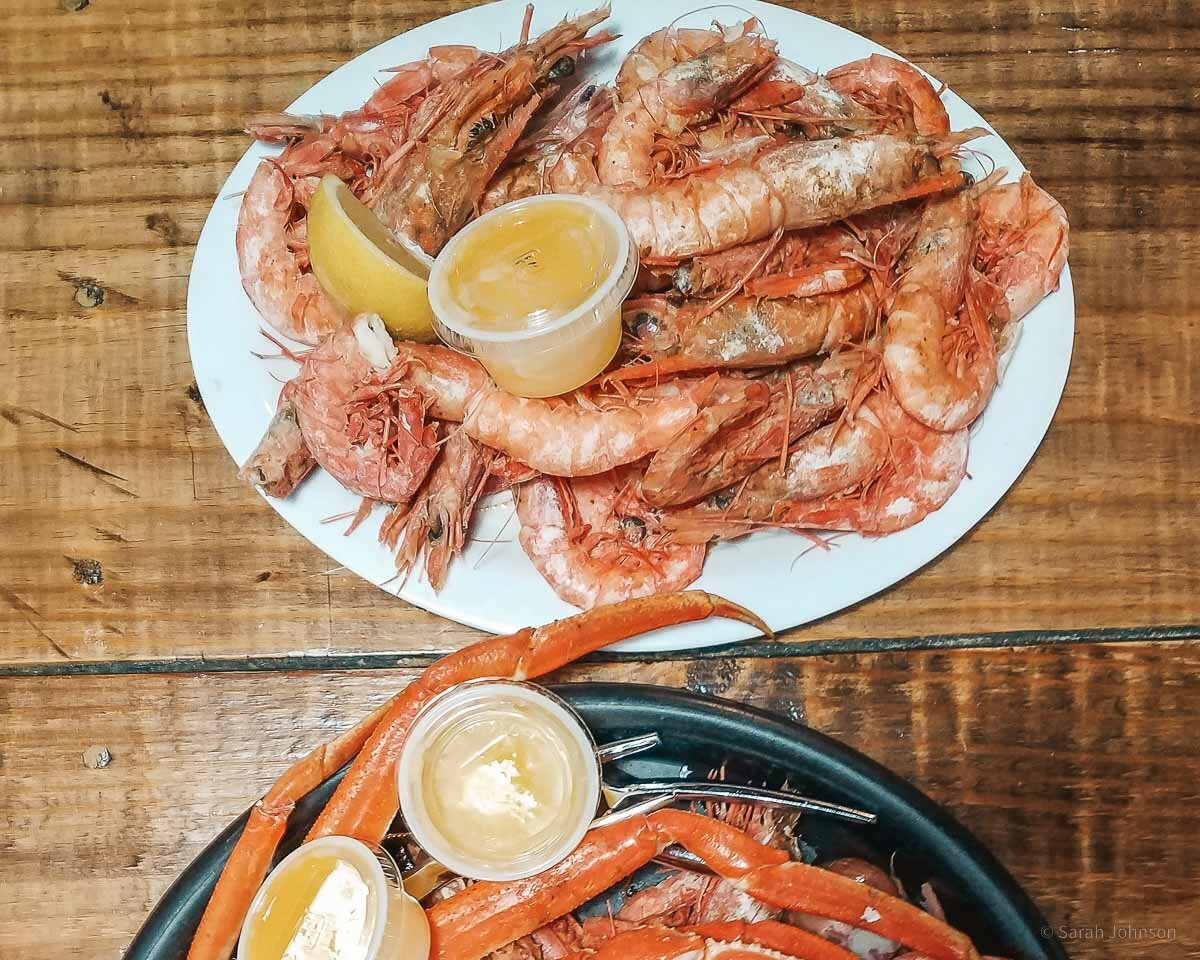 Royal Red Shrimp on our Food Bucket List. Image courtesy of Sarah from You Found Sarah