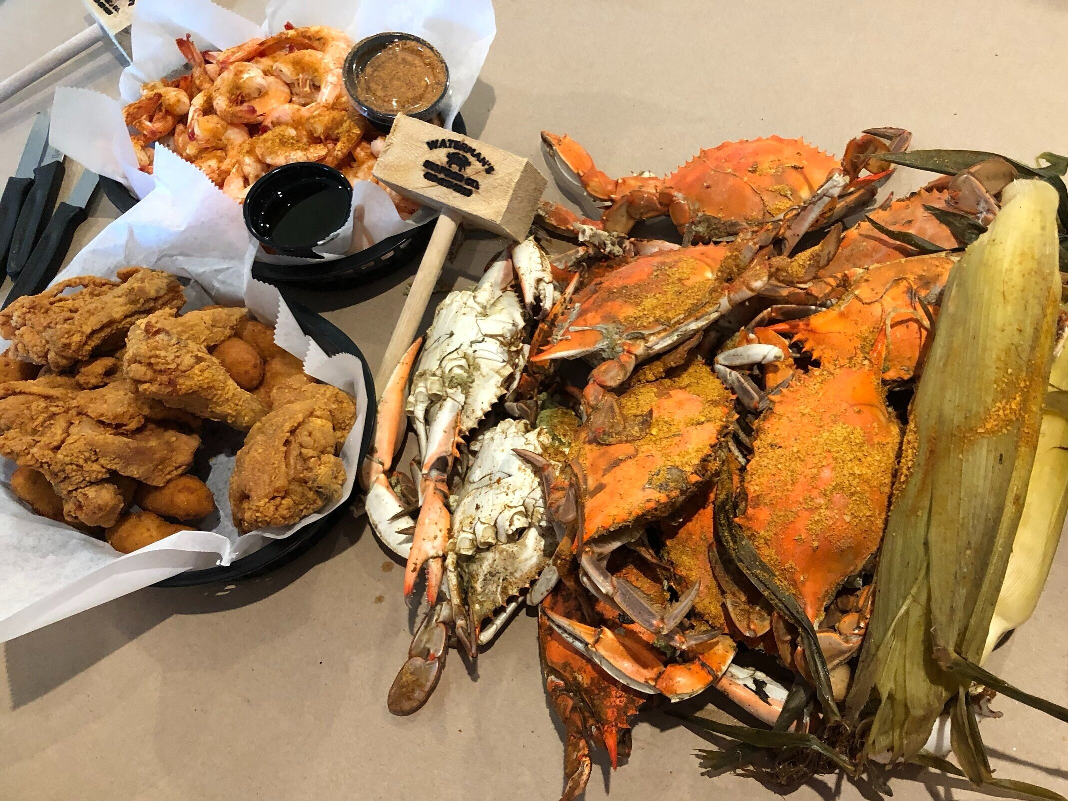 Maryland Blue Crab feast on our Food Bucket List.