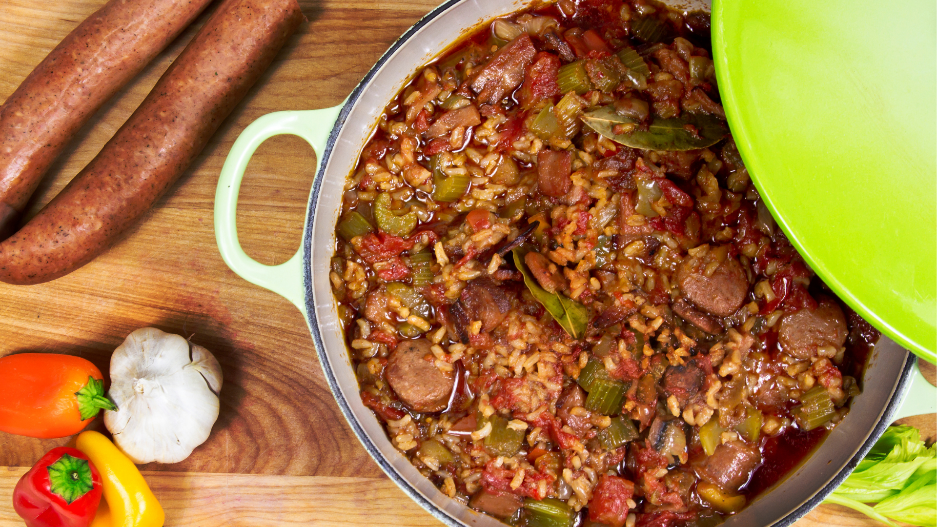 Jambalaya on our Food Bucket List.