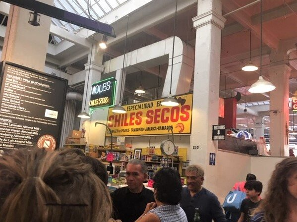 LA's Grand Central Market. Image courtesy of Cynthia Clotzman
