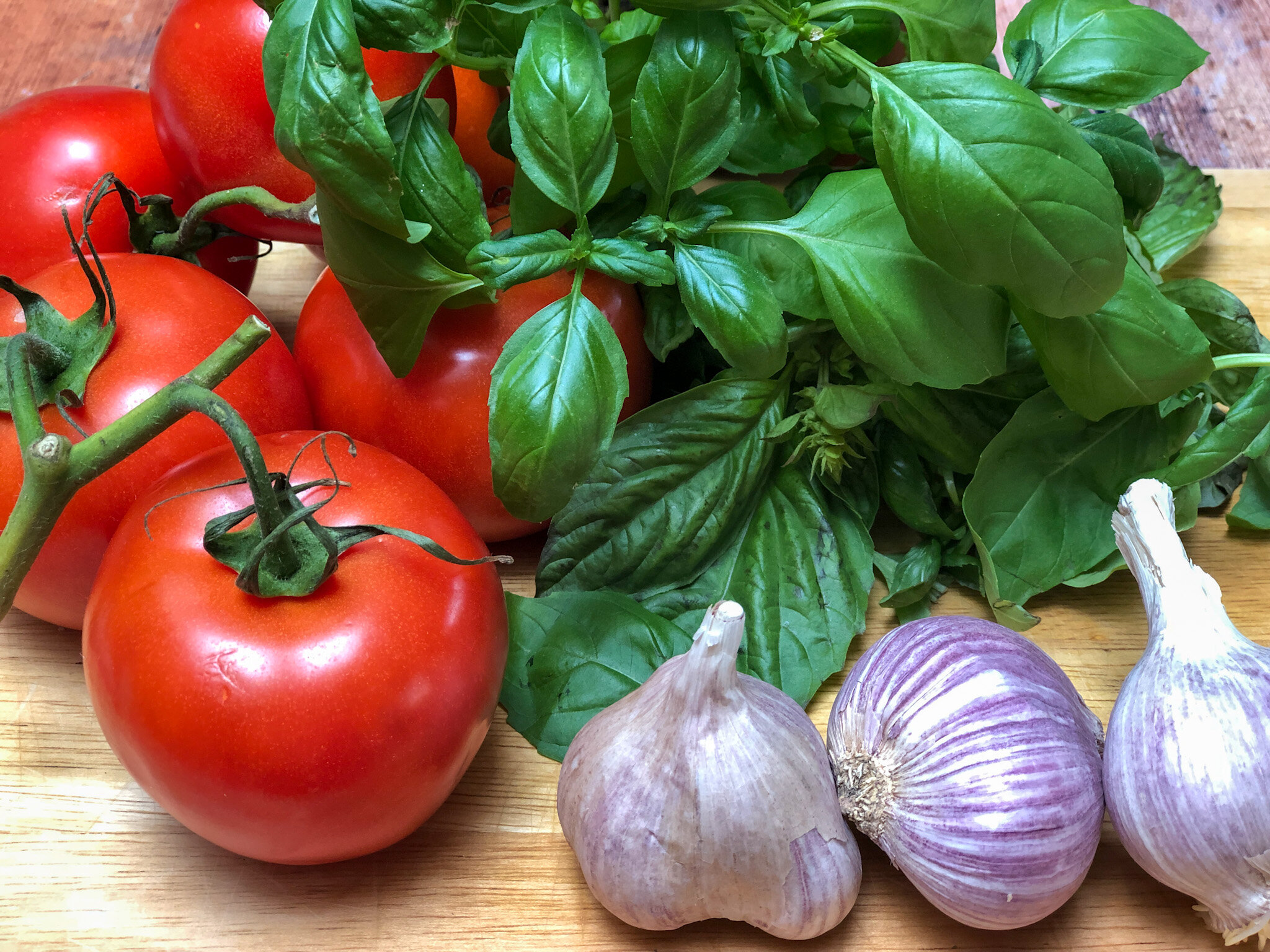Ingredients for Checca Recipes