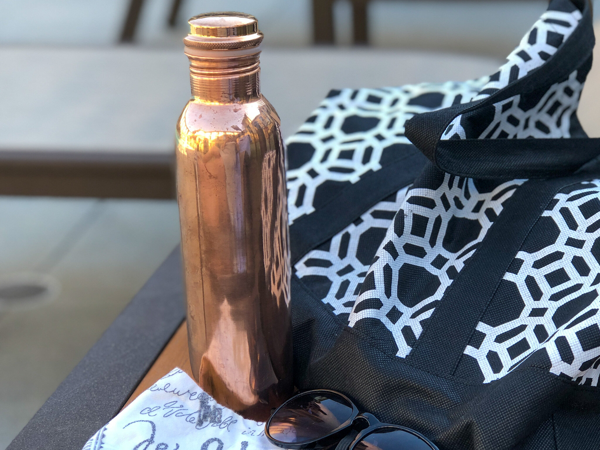 Copper H2O Copper Water Bottles, gifts that makes a difference.