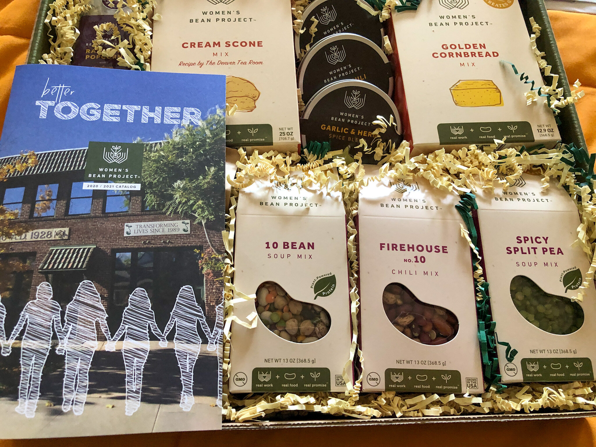 Women's Bean Project Gift Boxes, gifts that makes a difference.