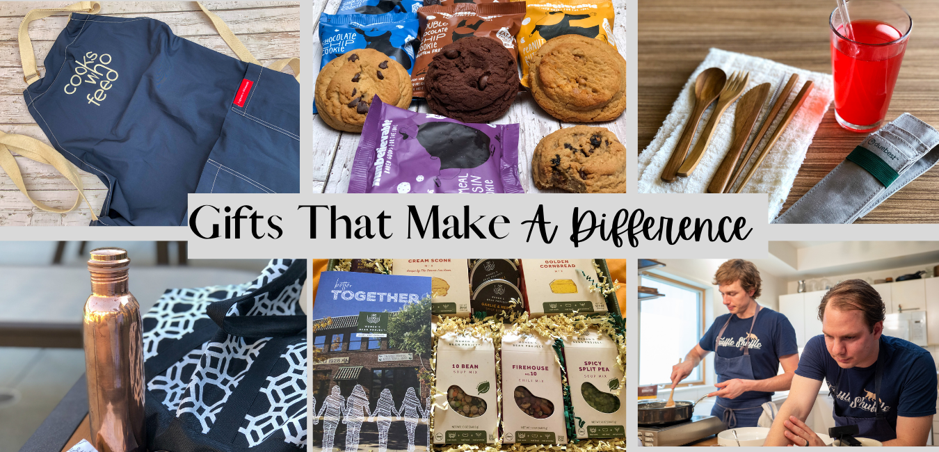 All of the recommended gifts on the Gifts That Make A Difference list.