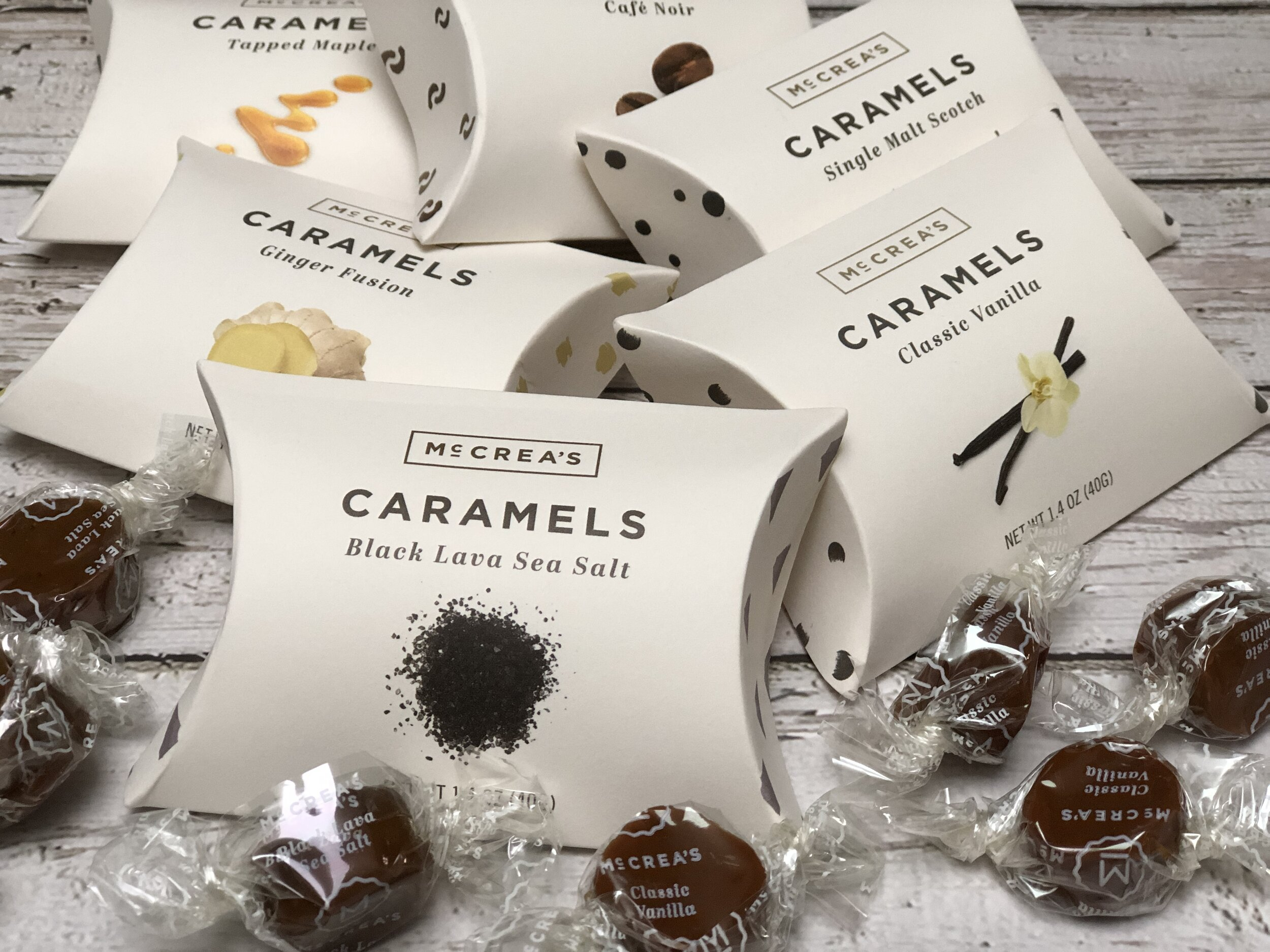 Flavored Caramels, some of the Best Gifts for Foodies.