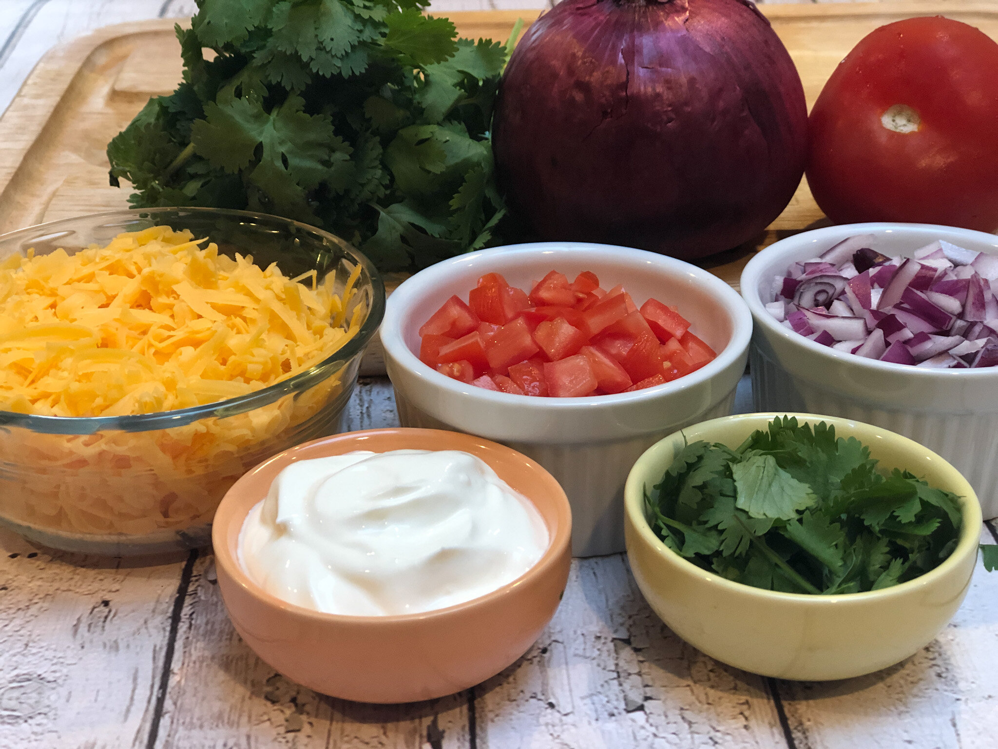 Heart-Healthy Turkey Chili Toppings