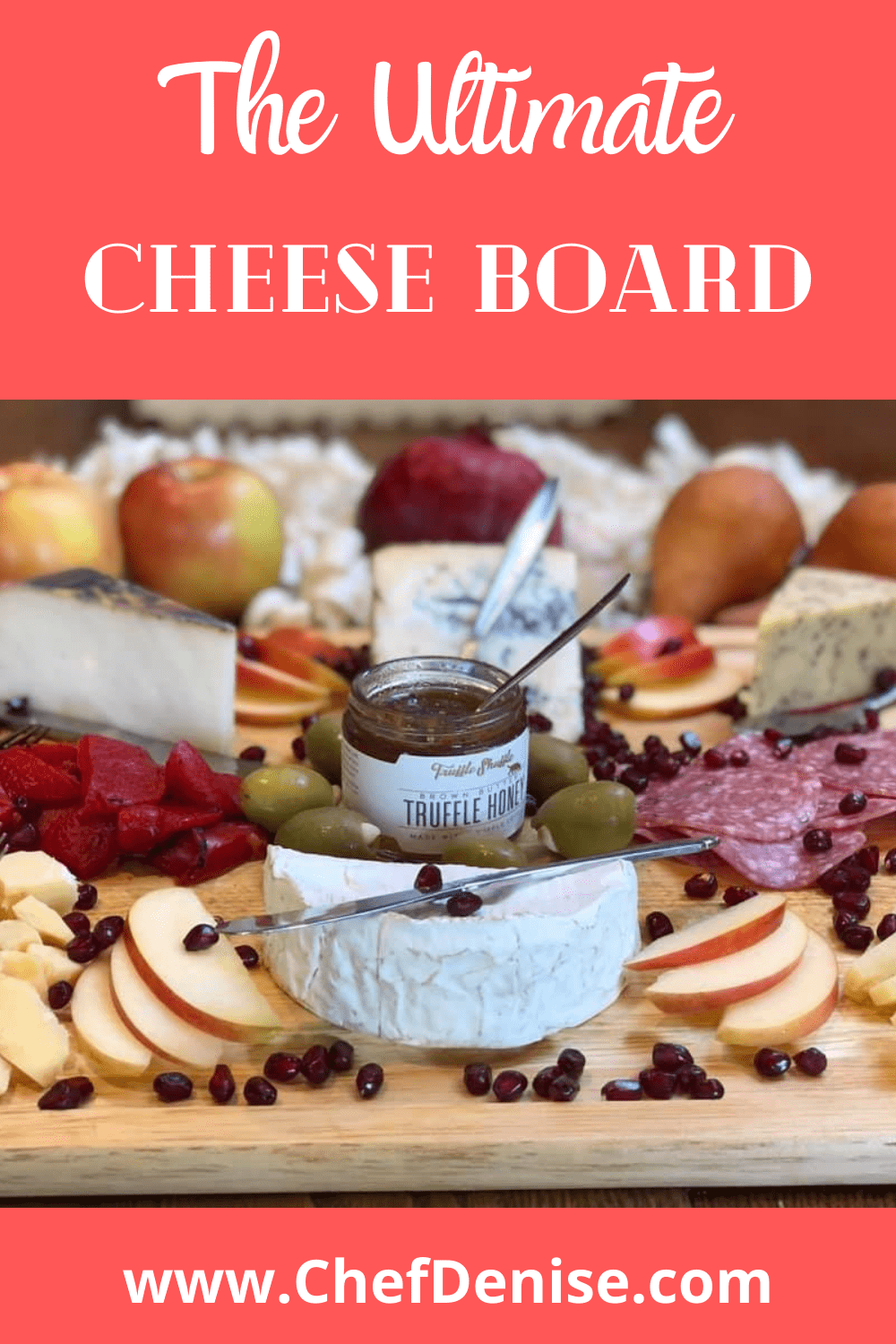 Pin for How to French Cheese platter.