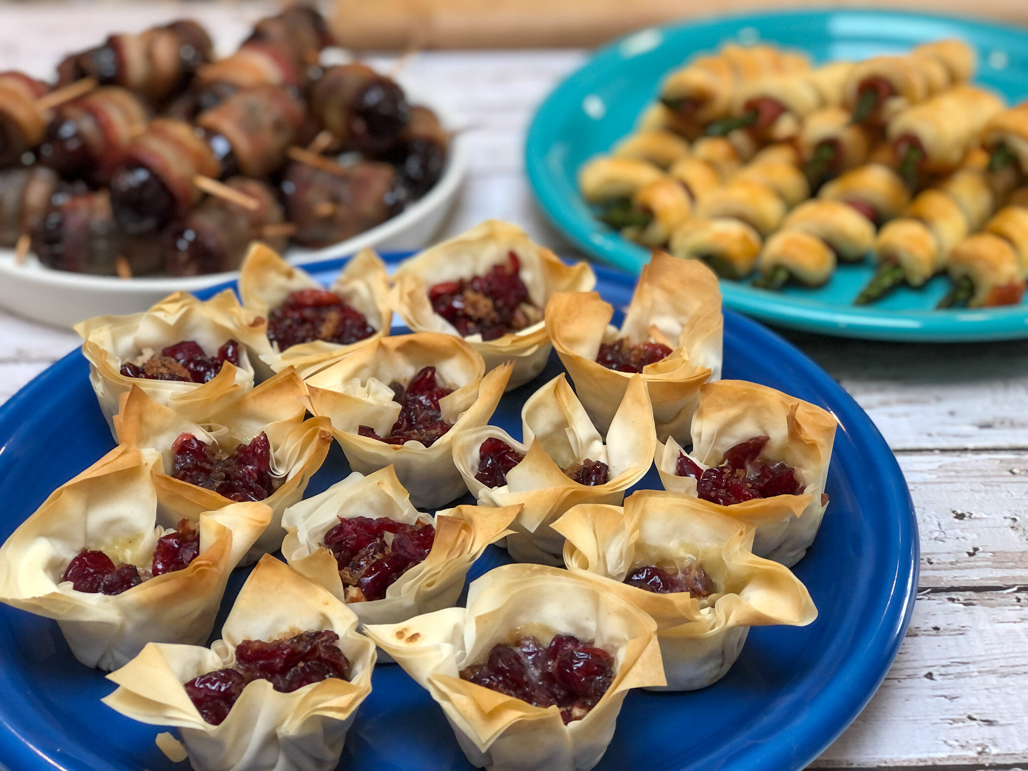 Super easy appetizers for a party.