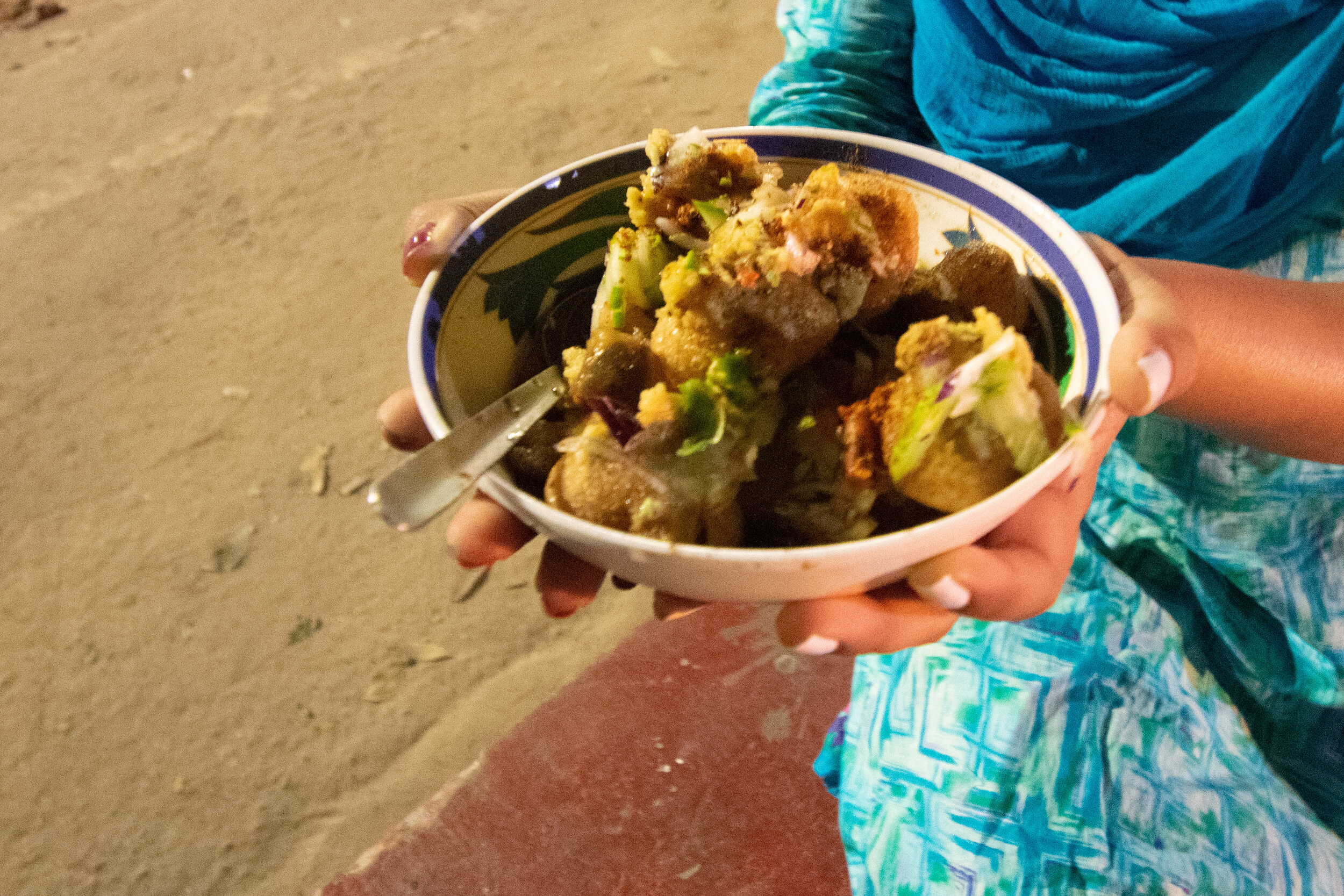 The #1 street food in Dhaka, a bowl of Fucka.