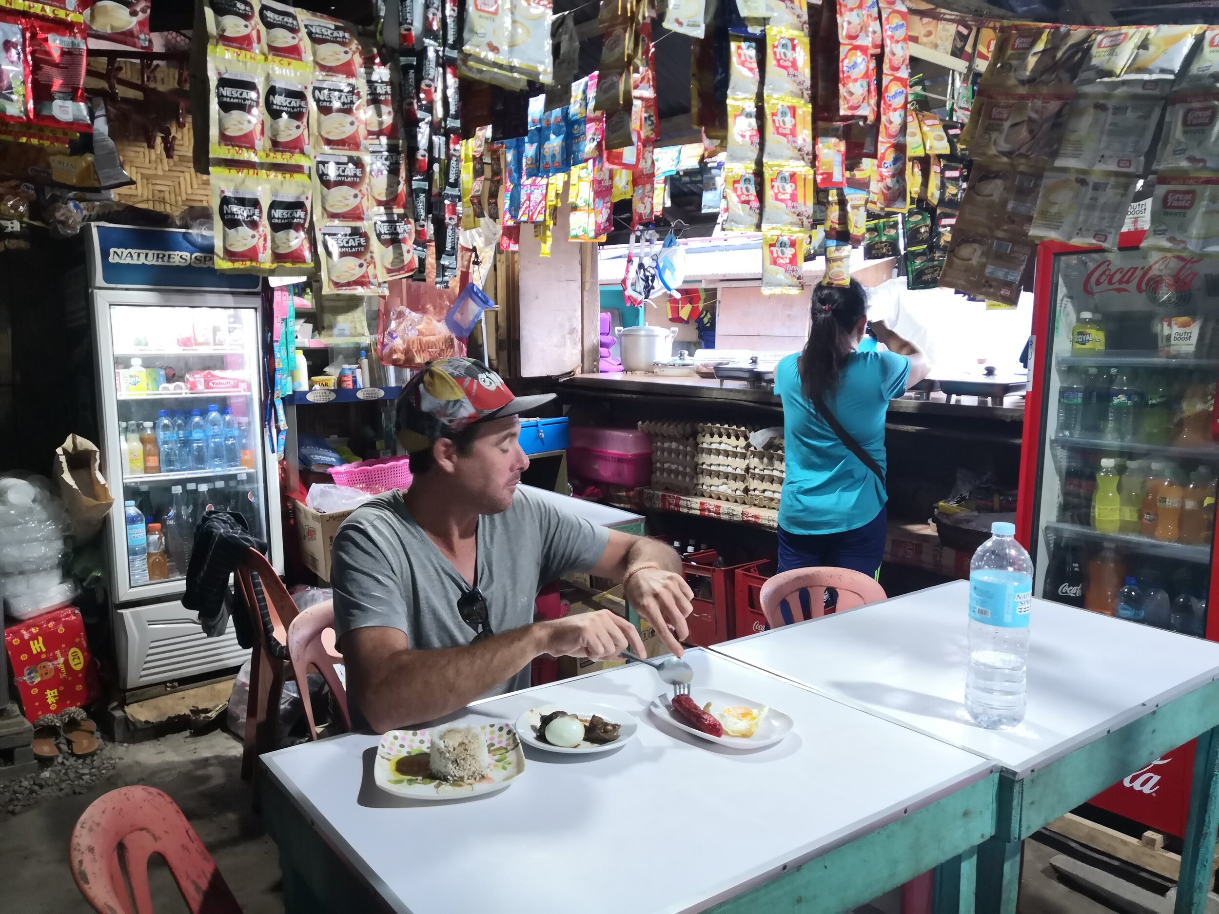 Street food in the Philippines..