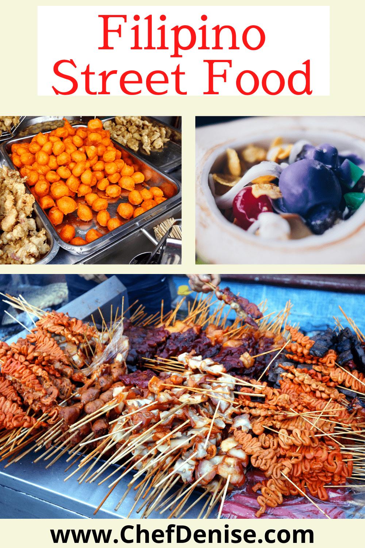 Pin for Filipino street food