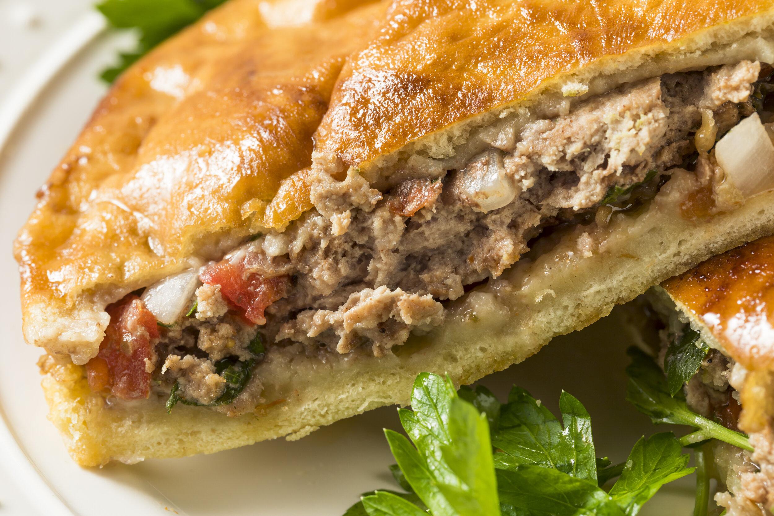 The Israeli street food, arayes.