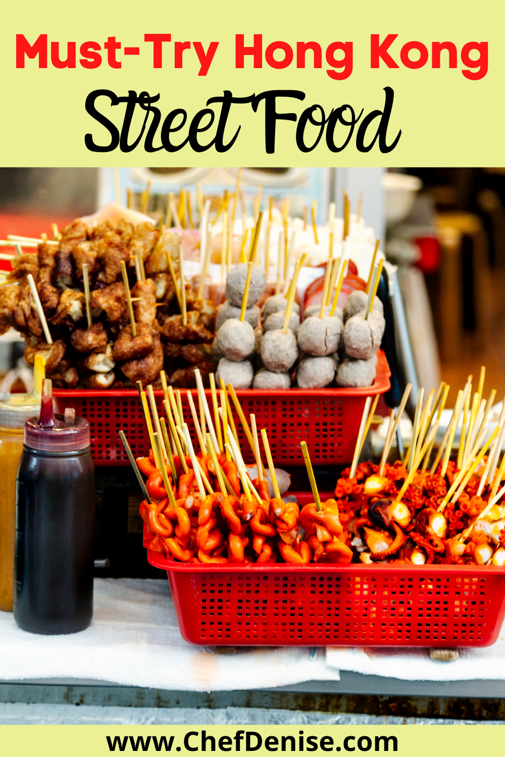Pin for the best Hong Kong street food.