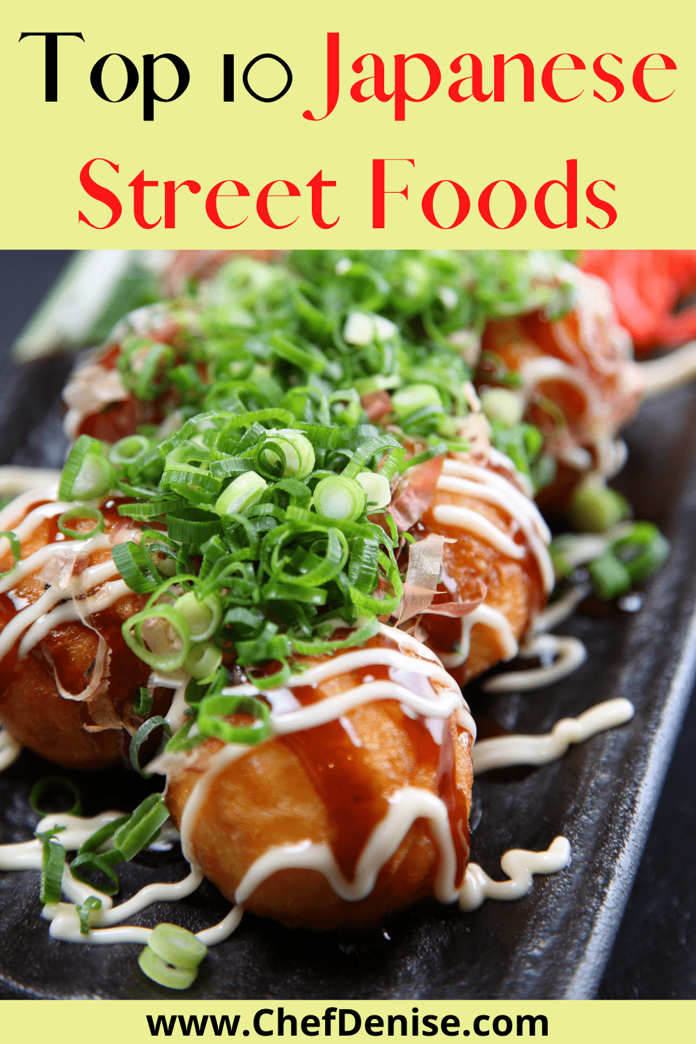 Pin for Top 10 Japanese Street Foods