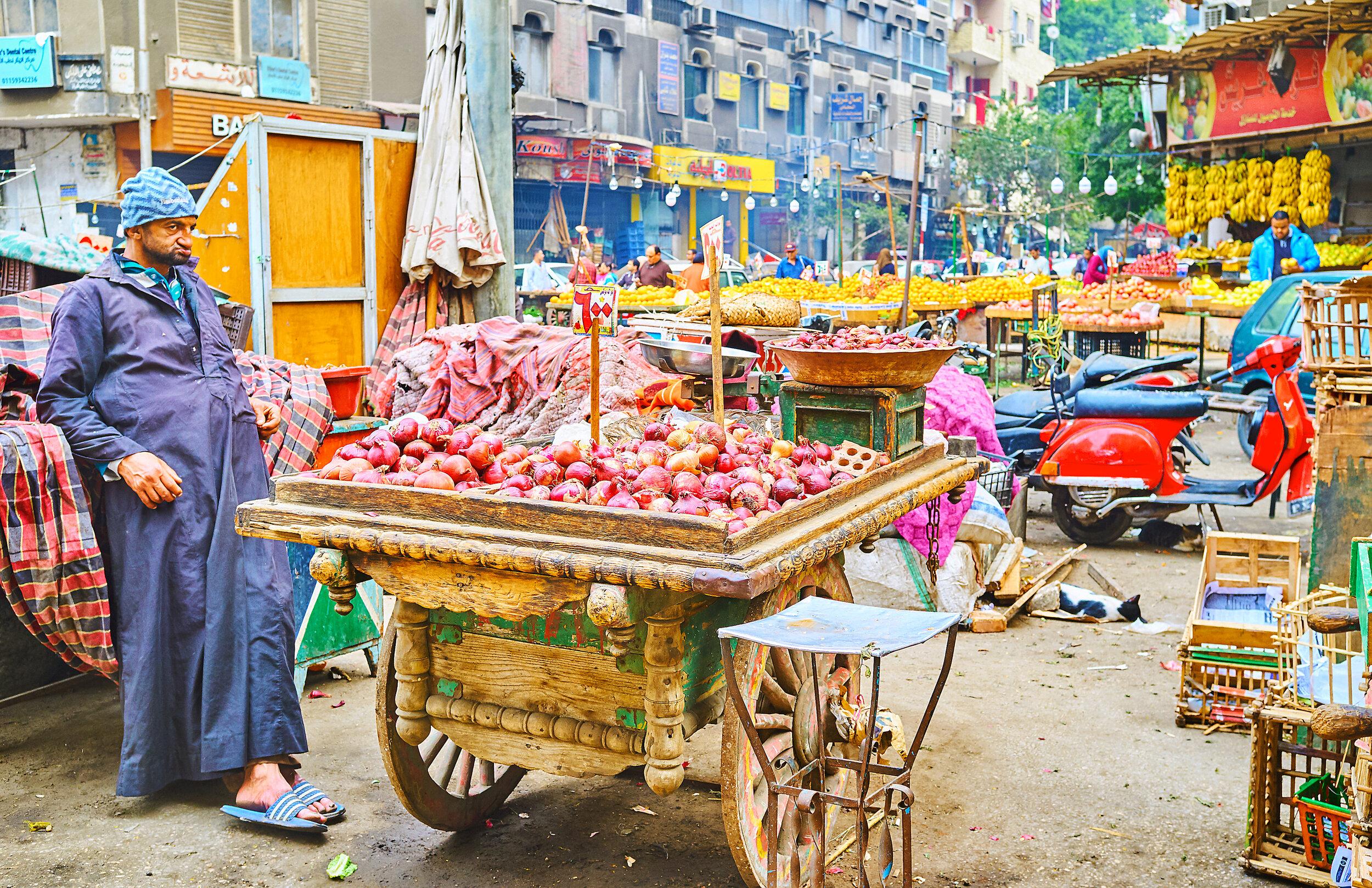 Egyptian street food.