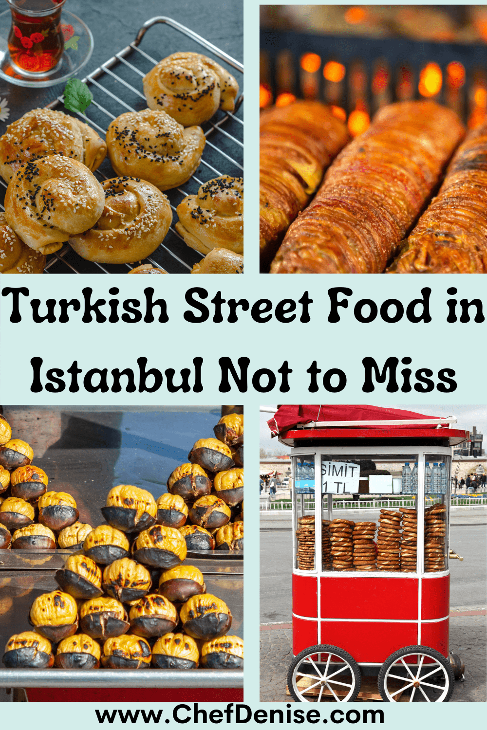 Pin for Turkish Street Food in Istanbul