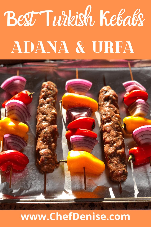 Urfa kebabs and Adana Kebabs
