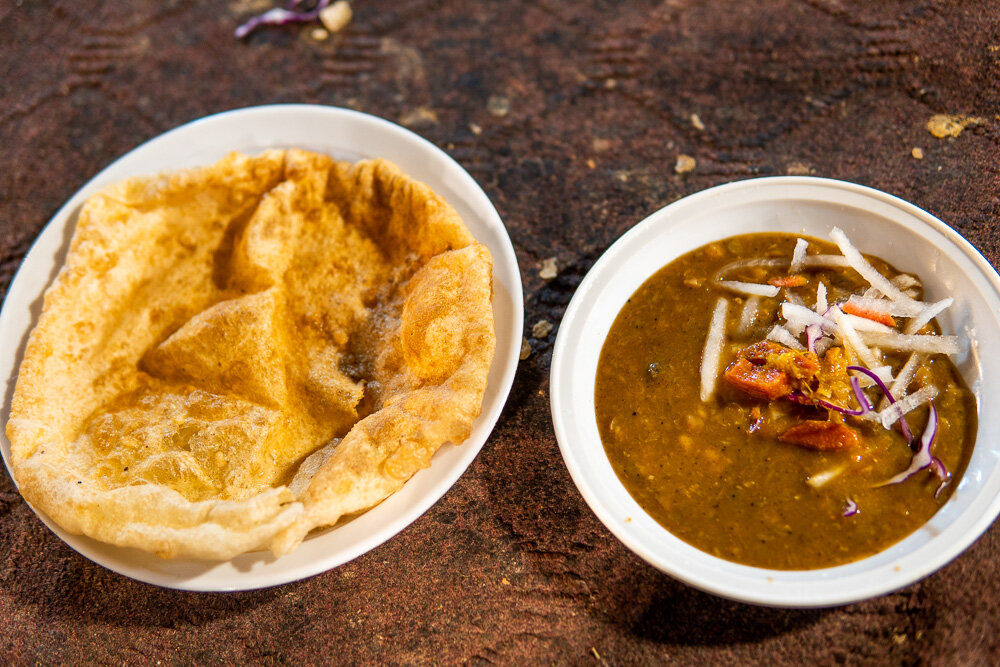 Chole Bathure make the best breakfast in Delhi