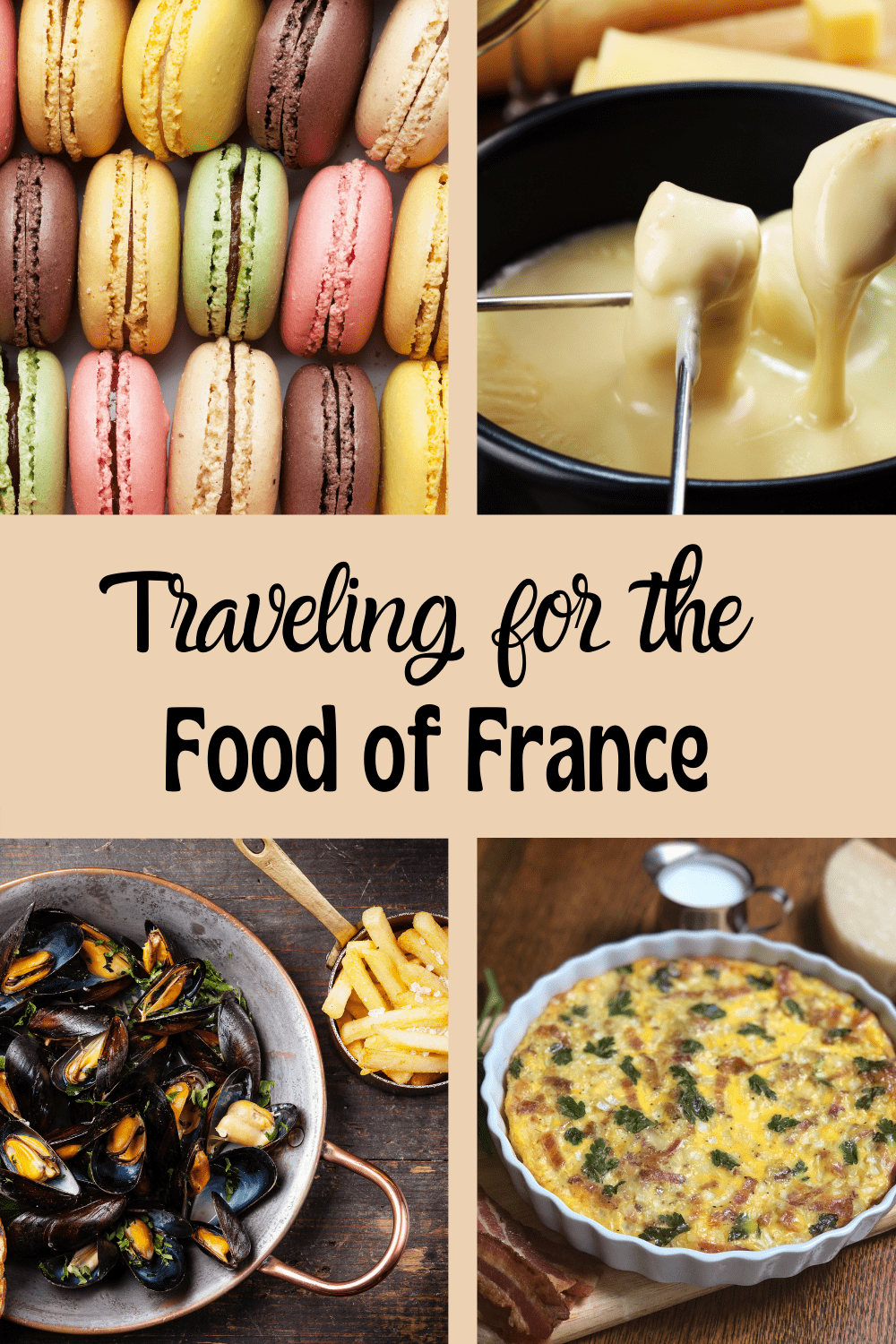 French food guide pin.