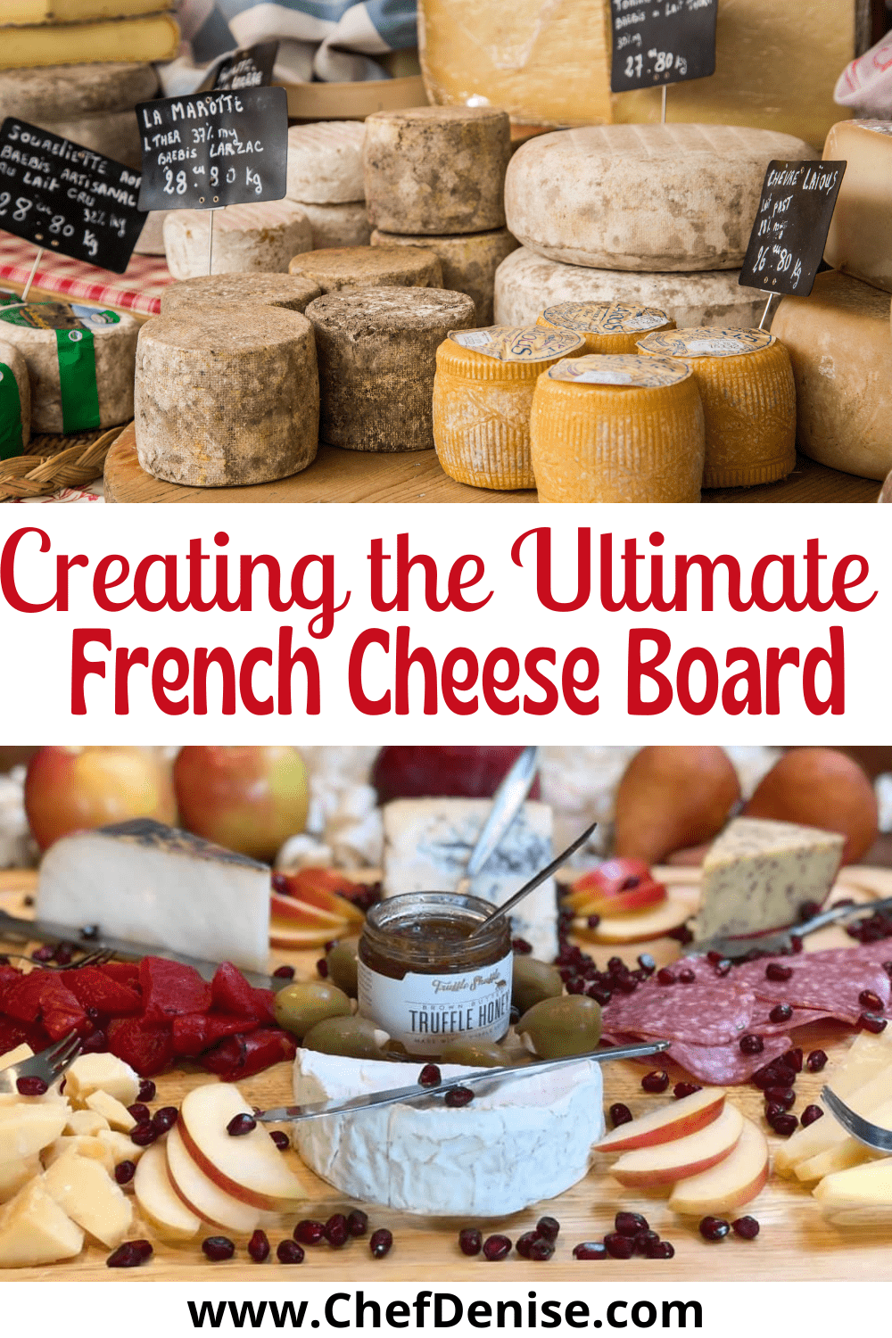 Pin for French Cheese Board.