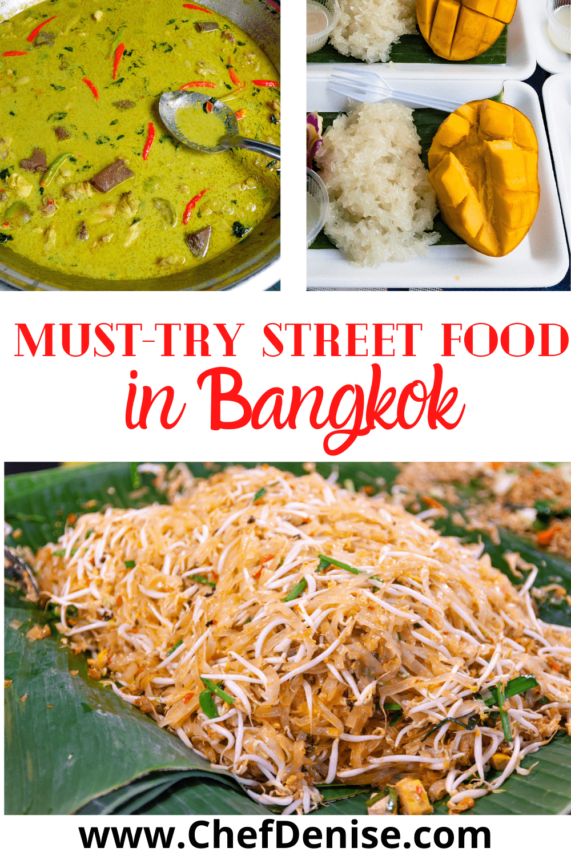 Pin for best Thai street food in Bangkok.