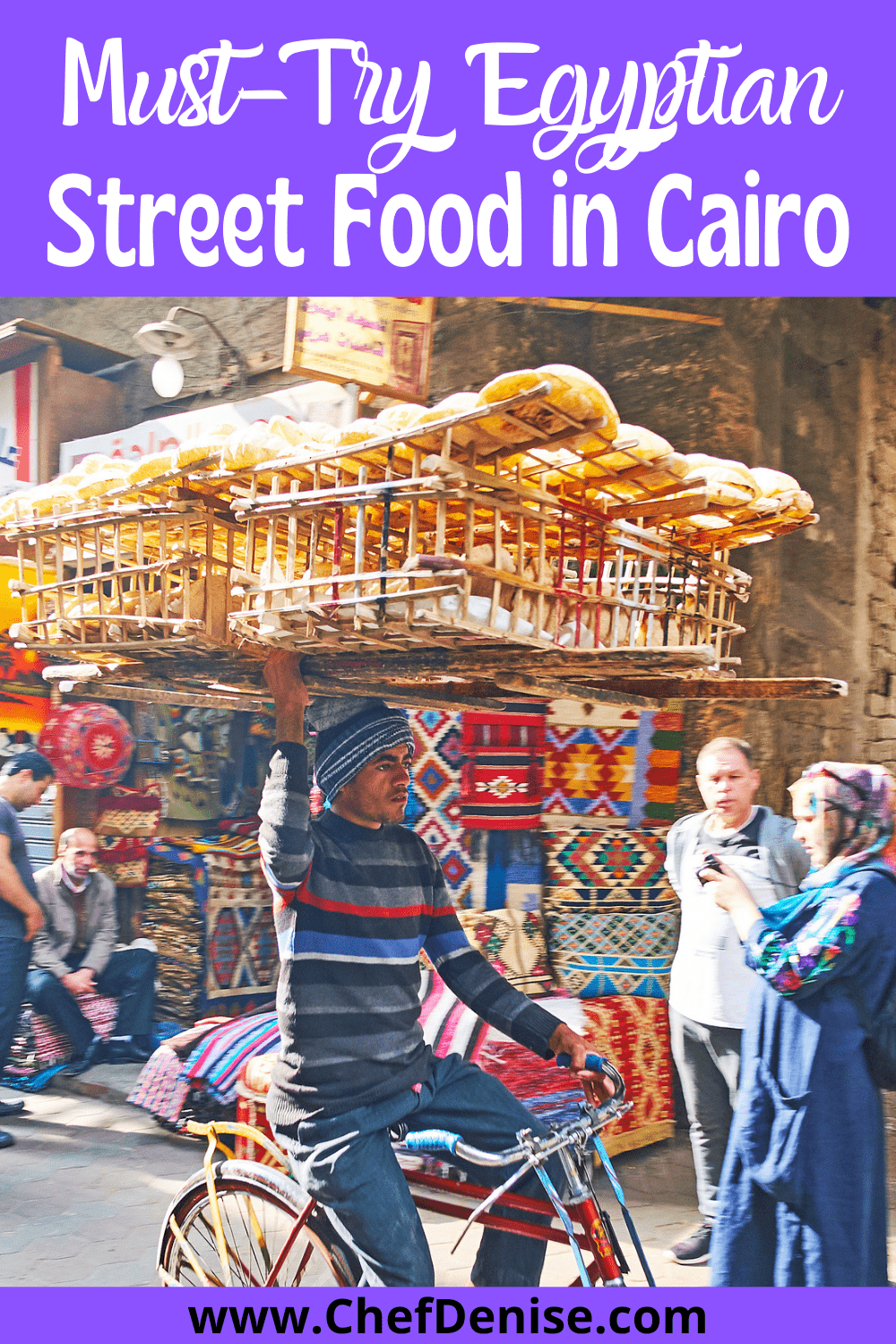 Pin for Egyptian street food in Cairo