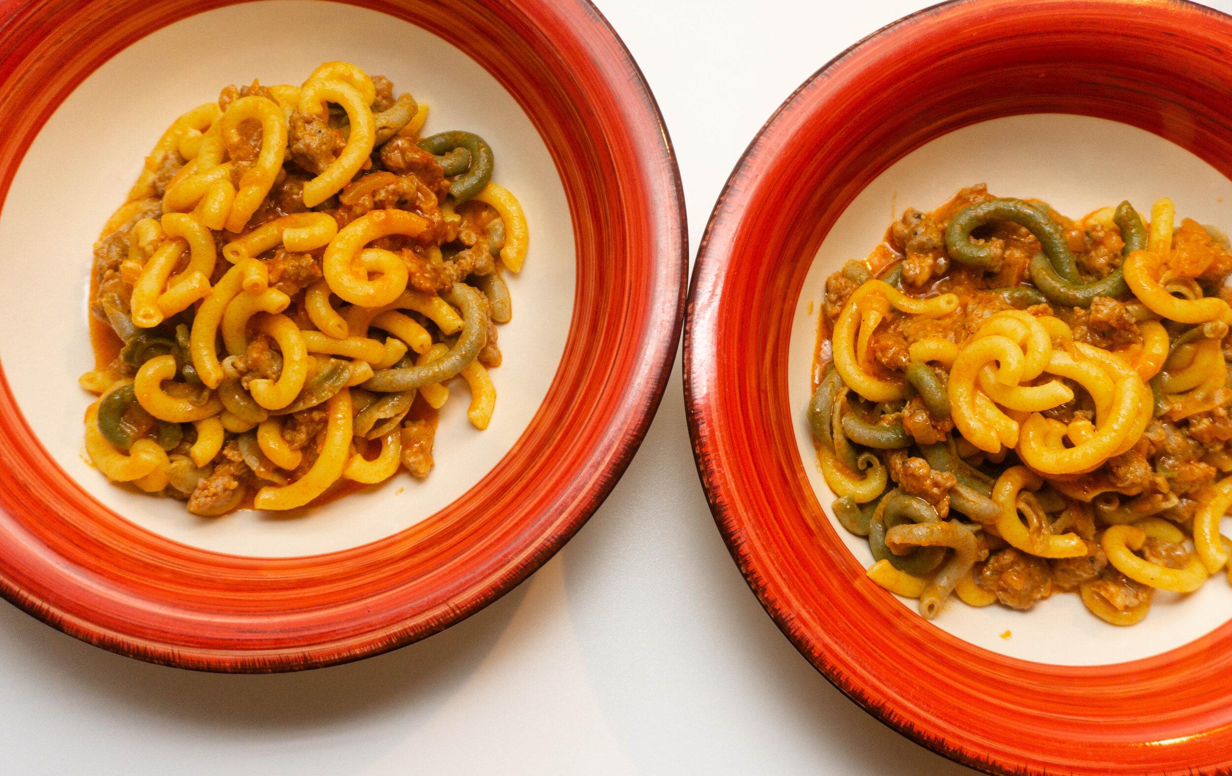 The best Gramigna alla Salsiccia in Reggio Emilia. Image courtesy of Helga from ShegoWandering.