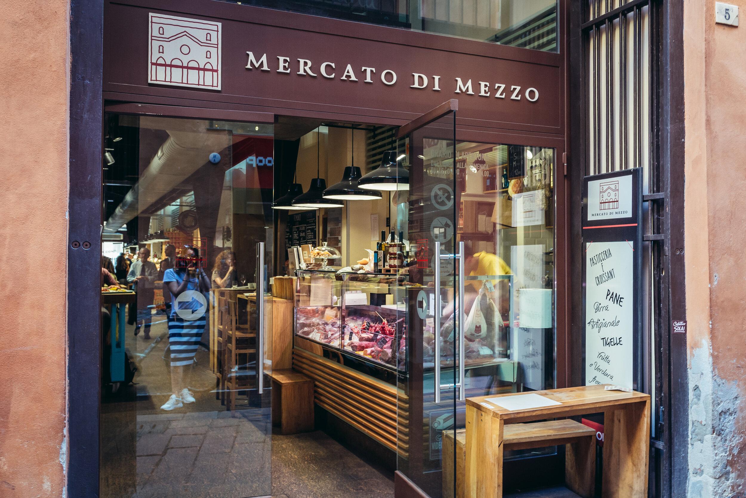 Visit Bologna food market, Mercato Di Mezzo, for regional Emilia-Romagna foods.